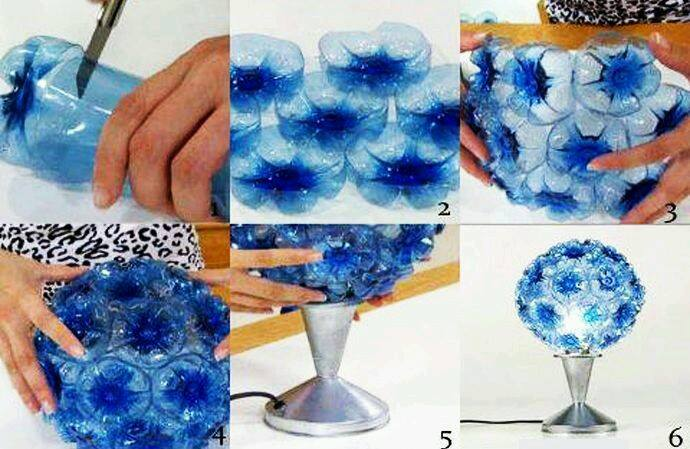 17 Ide Membuat Kreasi Dari Botol Bekas Menjadi Sesuatu Yang