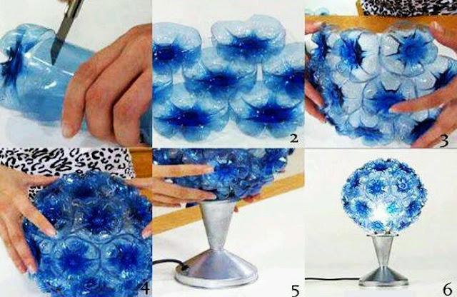 17 Ide Membuat Kreasi Dari Botol Bekas Menjadi Sesuatu yang Menakjubkan
