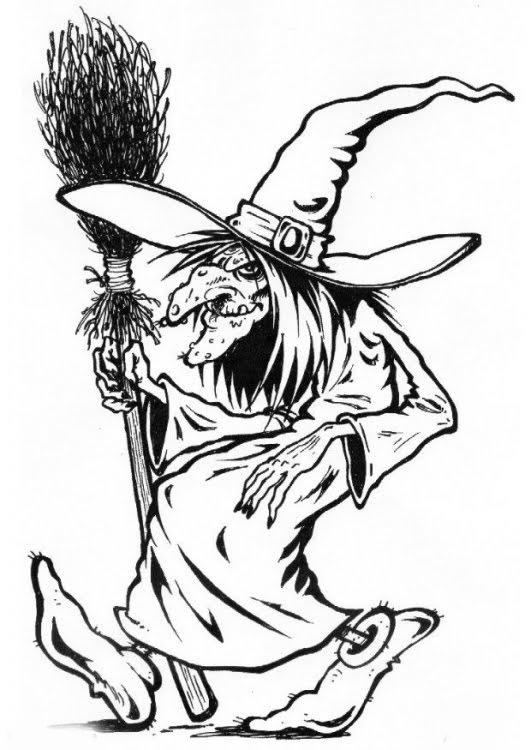 halloween printable: halloween witch printable