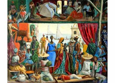 Bahia - Carybé ~ Um pintor fascinado pela cultura da Bahia