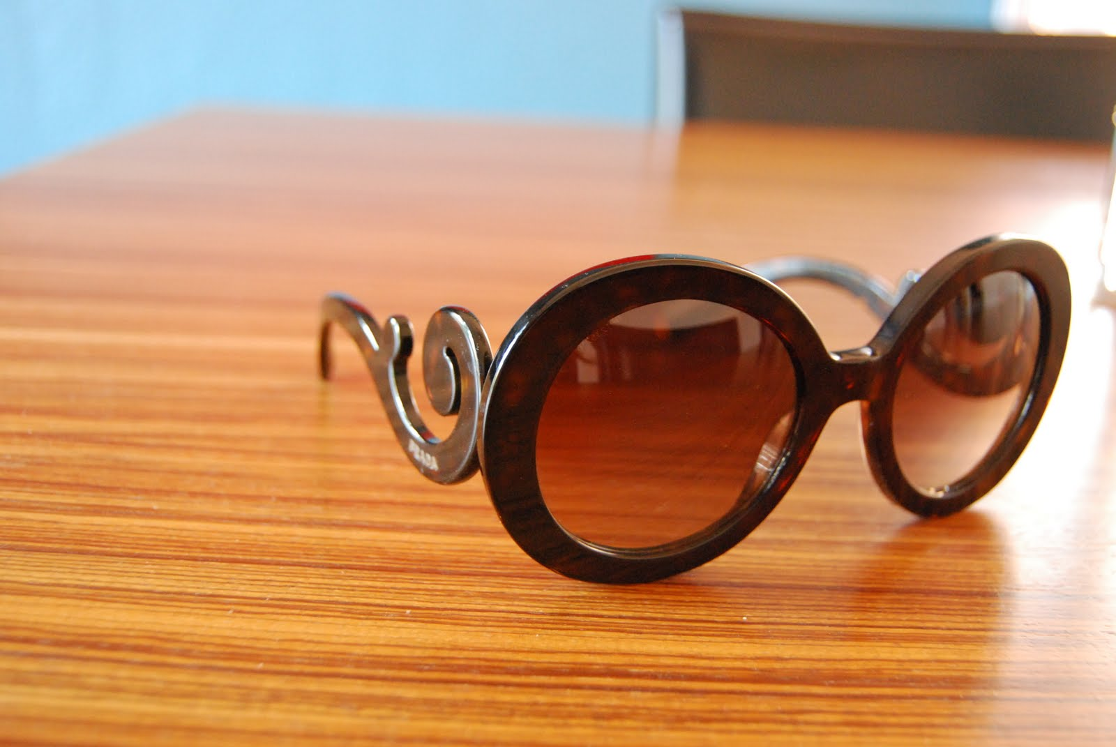 f3e6ae6d384 EAT Everyday  Prada Minimal Baroque Sunglasses  So Obsessed