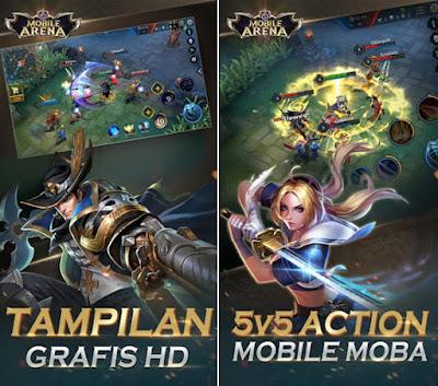 Mobile Arena - Action MOBA