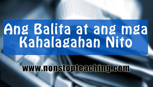 Ang Balita at ang mga Kahalagahan Nito