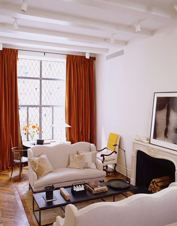Belgian style Manhattan apartment of Ina Garten