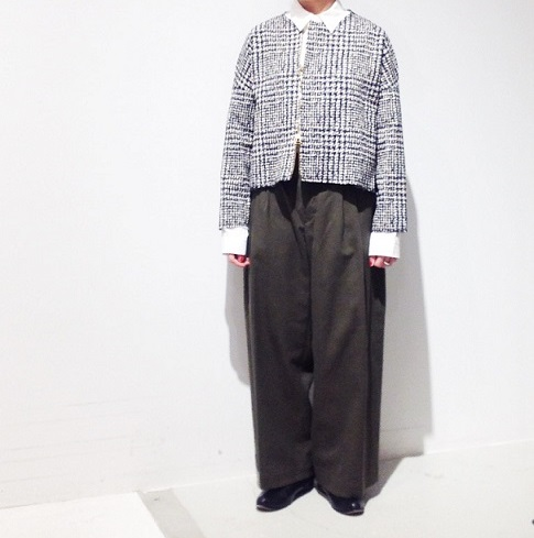 ippei takei【イッペイタケイ】zip cardigan▼香川・綾川店