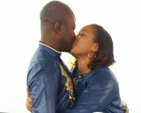 Mosun Filani wedding to husband kayode oduoye