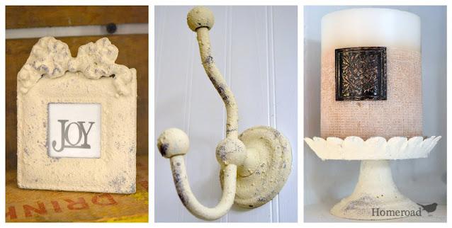 frame, hook and candle holder