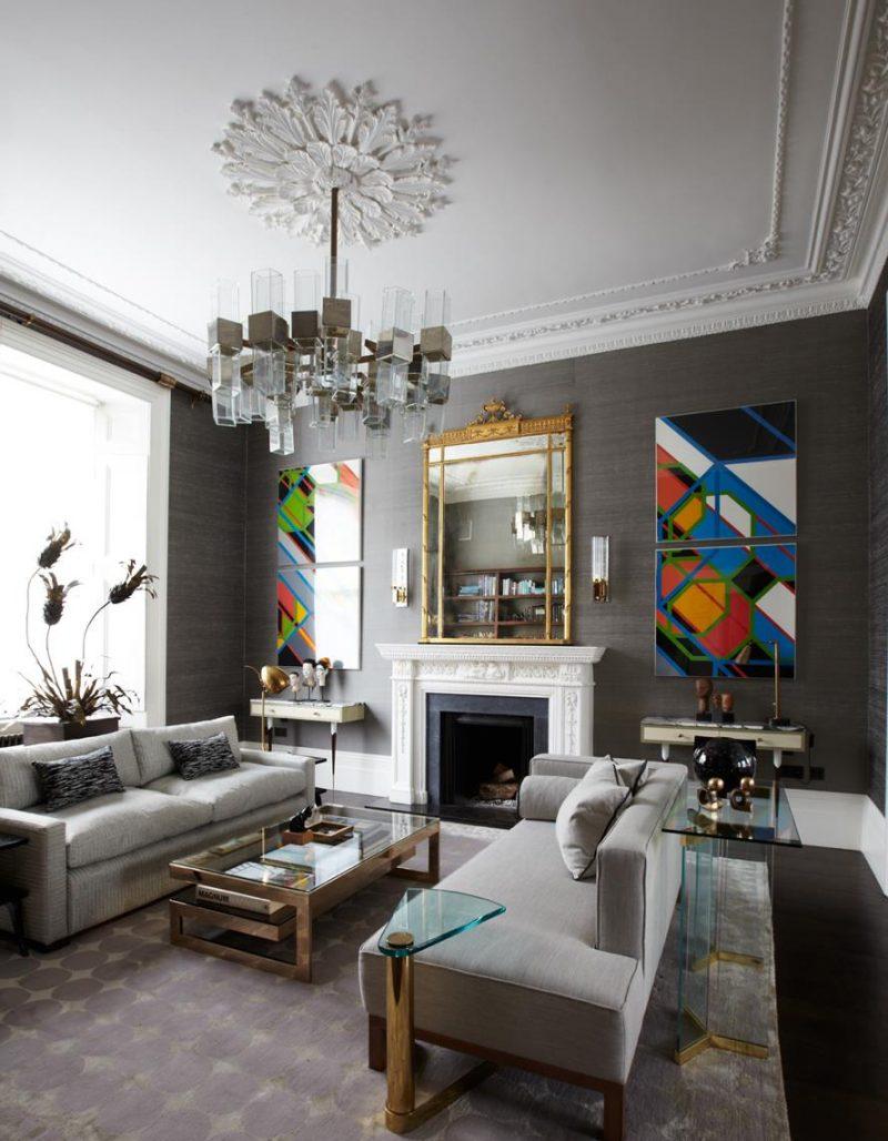 41 ideas inspiradoras para la decoraci n de su sala de - Decoracion cuarto de estar ...