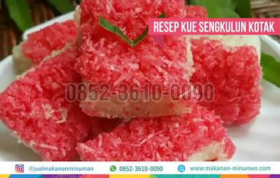 resep kue sengkulun, makanan-minuman.com