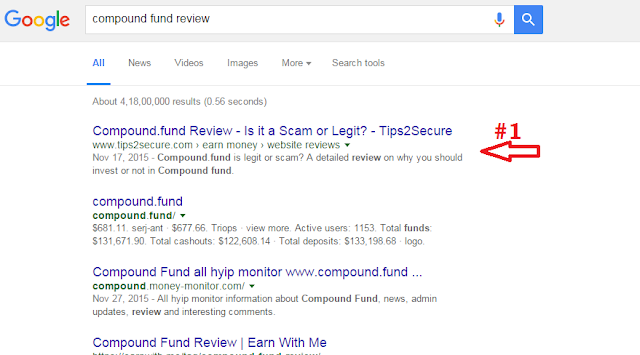 Keyword: compound fund review