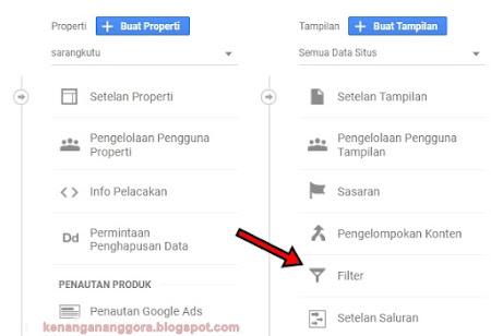 Cara Filter Alamat IP Sendiri Di Google Analytics