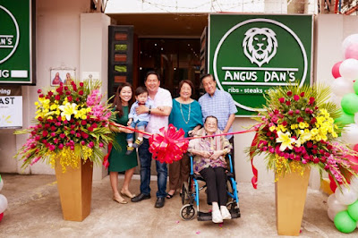 Angus Dan's, the newest steakhouse in Cebu
