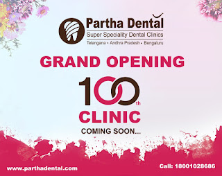 Please join us in celebrating the grand opening of our 100th clinic of partha dental coming soon