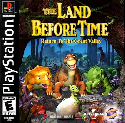 descargar land before time return to the great valley psx