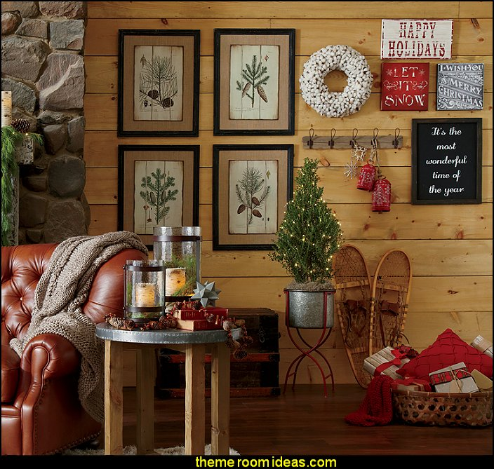 Decorating theme bedrooms - Maries Manor: Rustic Christmas ...