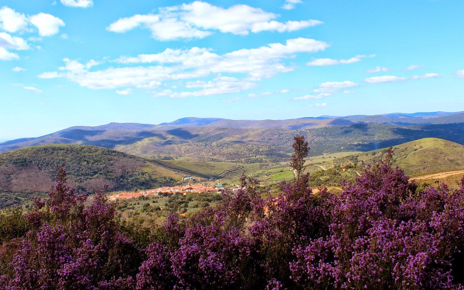 Paisajes de Berzocana-Cáceres