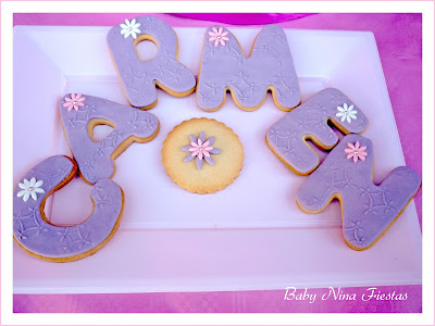 Galletas decoradas princesa sofia