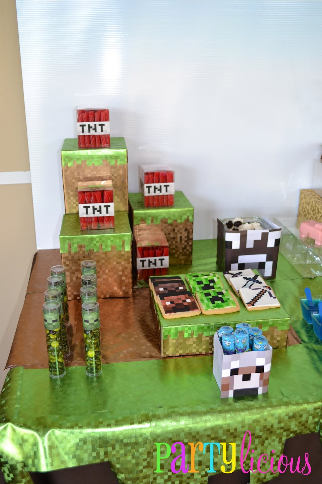 partylicious events pr   minecraft birthday party