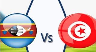 مشاهدة مباراة تونس وسوازيلاند بث مباشر بتاريخ 09-09-2018 تصفيات كأس أمم أفريقيا 2019