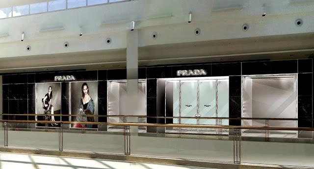 a35e1bfd0d1d5 F shion Tour Brasil  Prada inaugura loja no Shopping Iguatemi