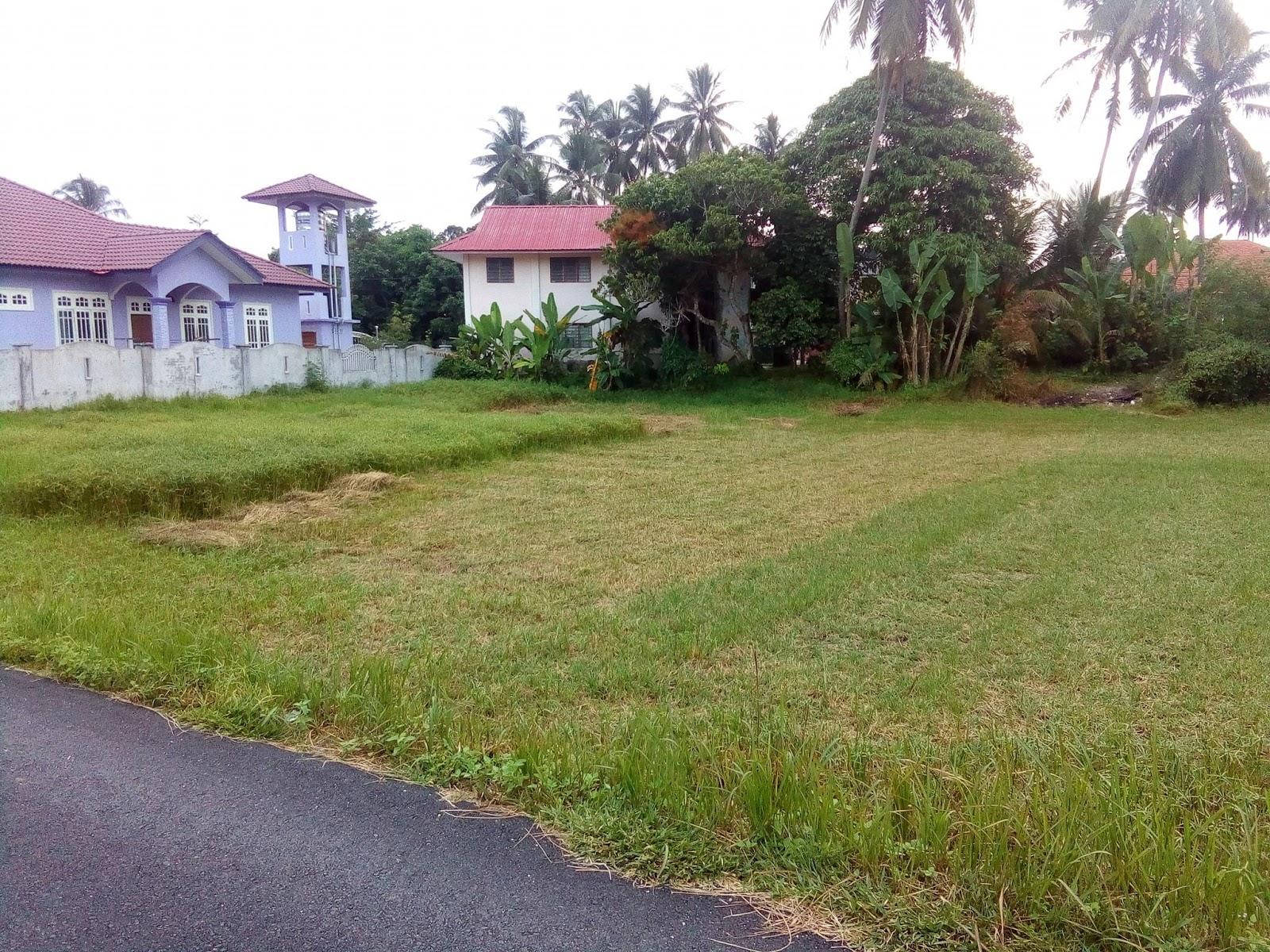 Kajian tapak bina rumah banglo tanah sendiri