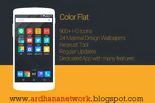Color Flat - Icon Packs V3.0 apk