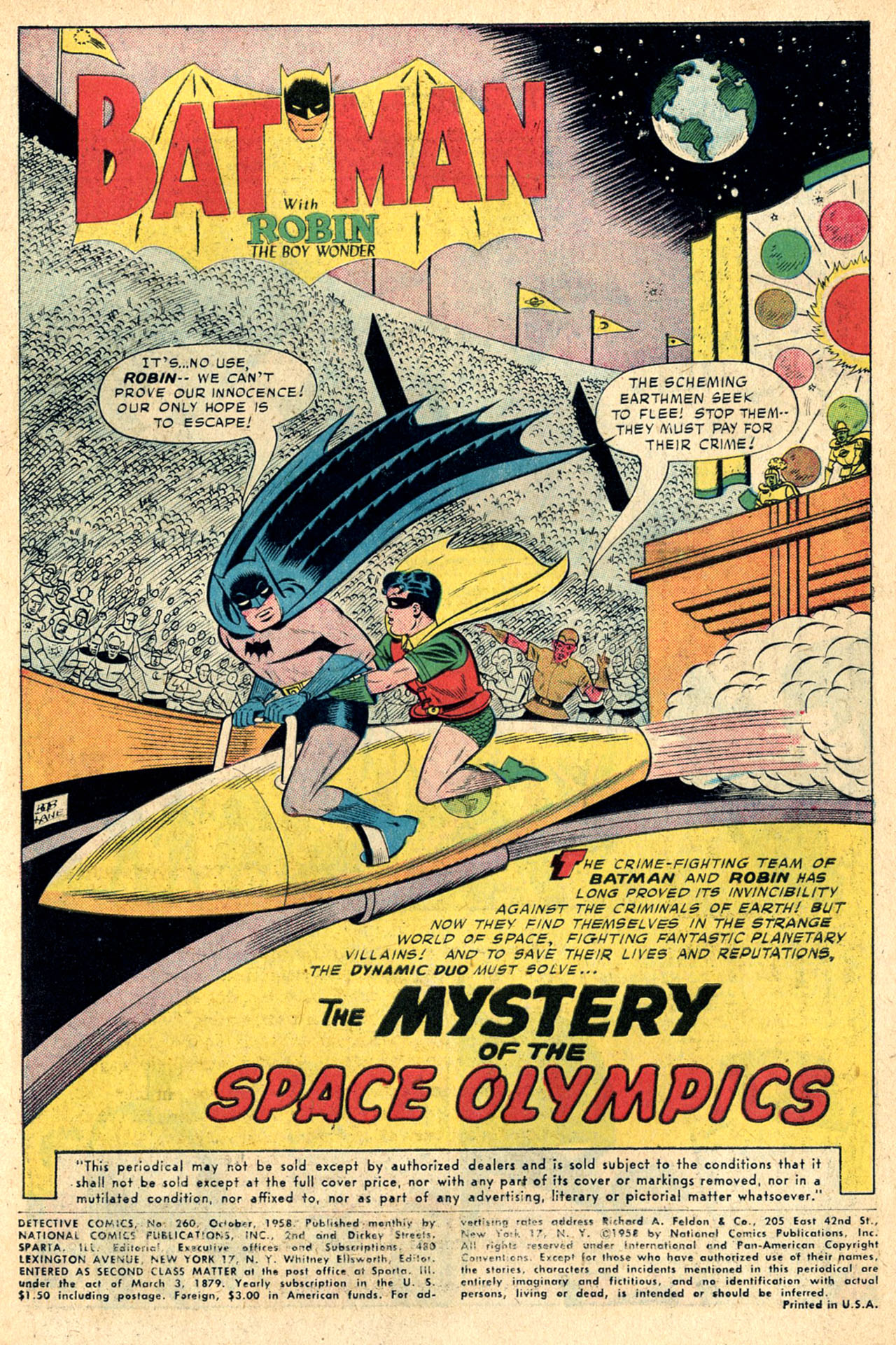 Read online Detective Comics (1937) comic -  Issue #260 - 3