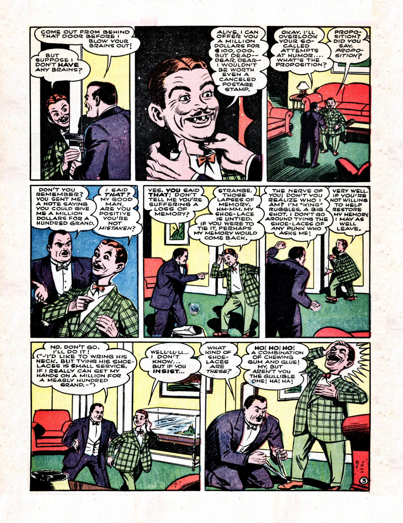 Read online Action Comics (1938) comic -  Issue #57 - 5