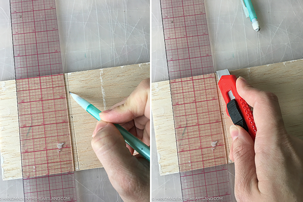How to cut balsa wood