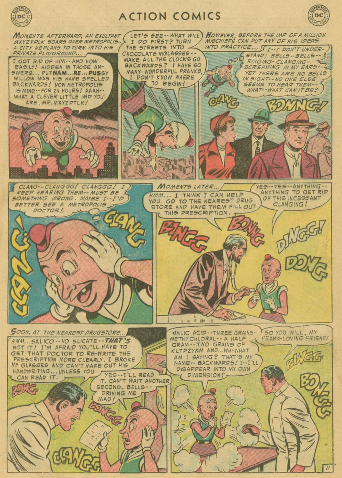 Read online Action Comics (1938) comic -  Issue #208 - 12