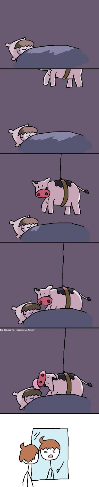 Schlafen lustige Comic Bilder Stietz