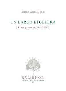 Un largo etcétera, de Enrique García-Máiquez