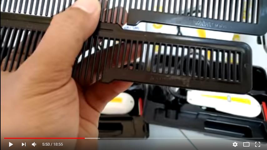 Cara Membedakan mesin cukur Wahl Asli dengan Wahl palsu a945f9336a