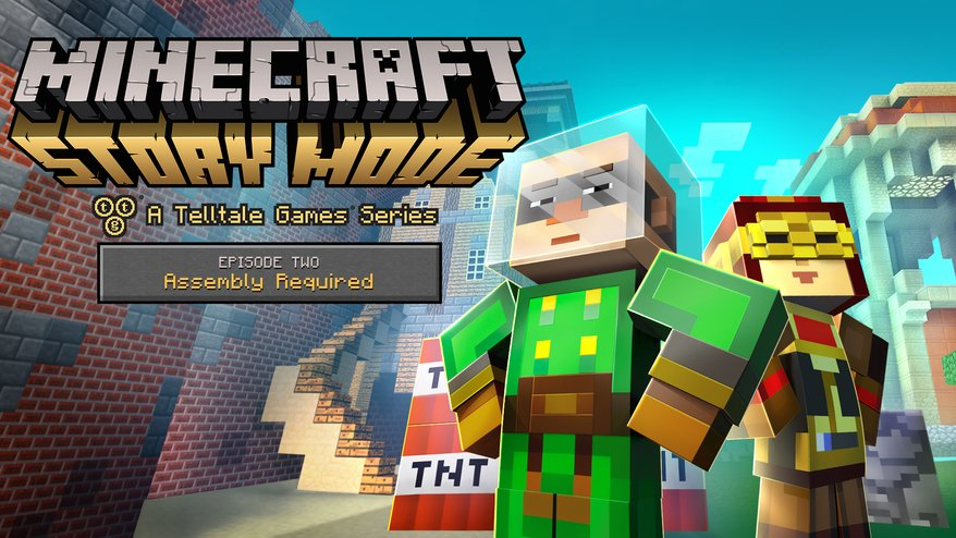 Game Online Minecraft Story Mode Trailer Introduces The