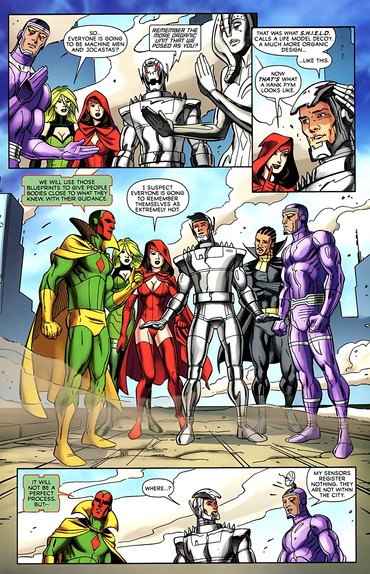 Read online Exiles (2009) comic -  Issue #5 - 23