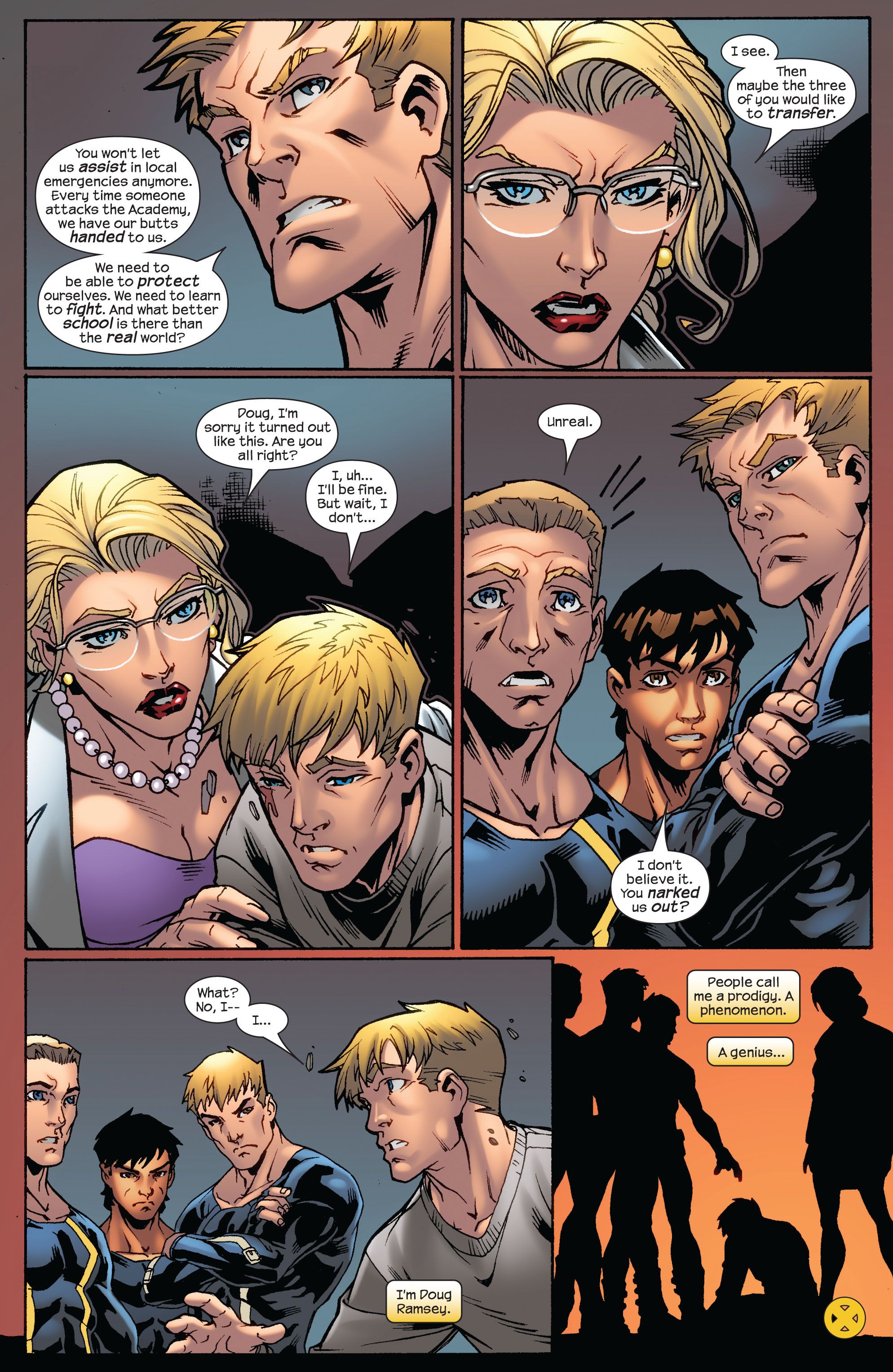 Read online Ultimate X-Men comic -  Issue #75 - 36