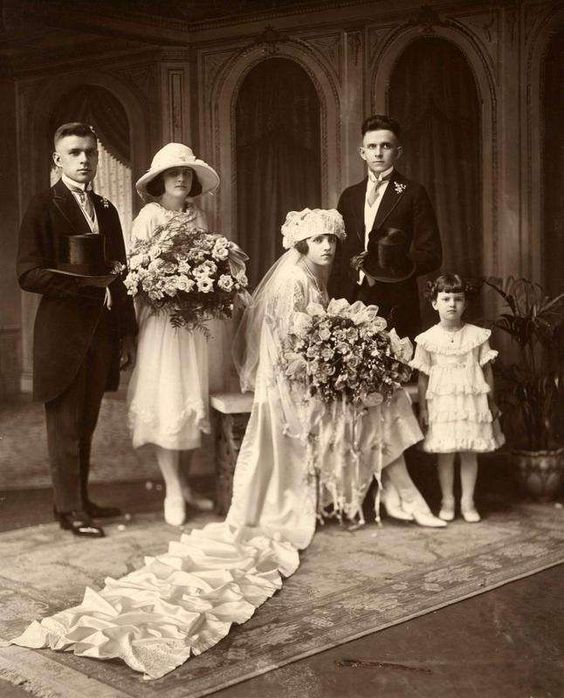 Beauty From Ashes: 1920s Wedding Accessories And Underwear