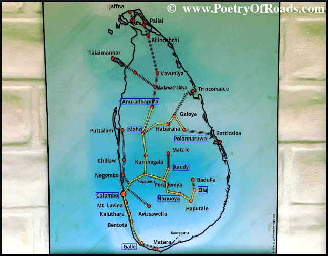 Train Travel in Sri Lanka - inexpensive and intriguing