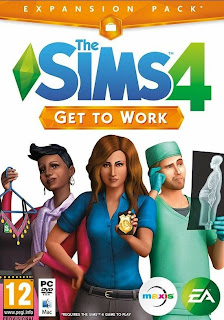 The Sims 4: Get To Work (DLC) (PC) 2015