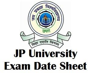 Jai Prakash University Chapra Exam Date 2017