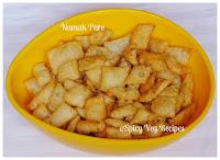 Namak Paray /Pare Recipe, Maida, How to make Namak Paray /Pare, Deep Fry Snacks, Festivals/ Occasions, Holi, Lunch Box&Snacks,