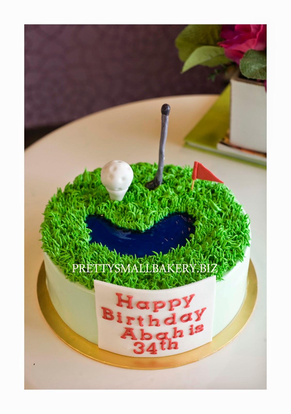 Kek Birthday Golf Prettysmallbakery