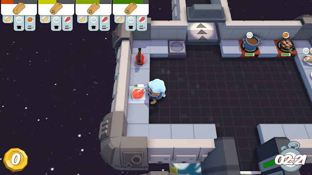 Screenshot from Overcooked!