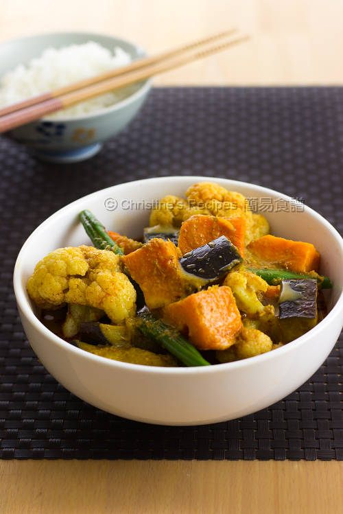 咖哩雜菜 Mixed Vegetable Curry01