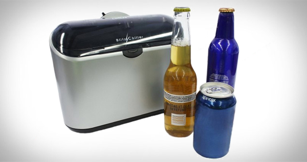 Cooper Cooler Rapid Beverage Chiller, Brushed-Silver