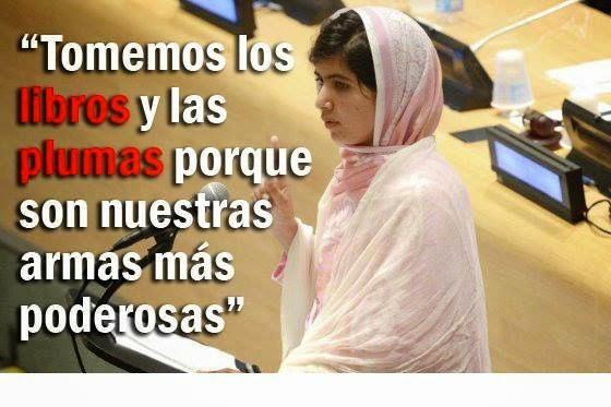 Compartiendo Aula Frases Y Mensajes De Malala Y Kailash