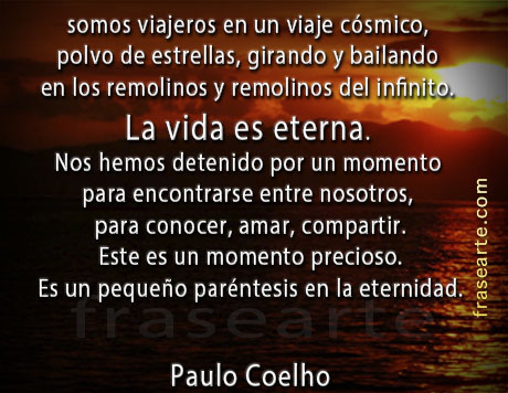 Paulo Coelho - frases para la vida