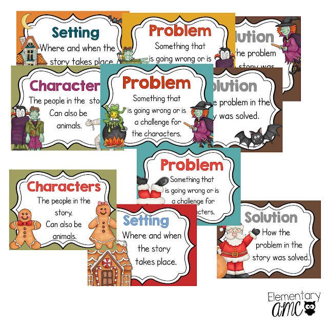 fiction text element posters
