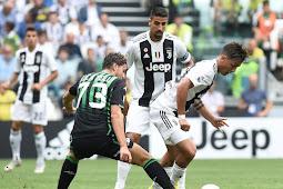 Hasil Pertandingan Juventus vs Sassuolo di Liga Italia 2018-2019