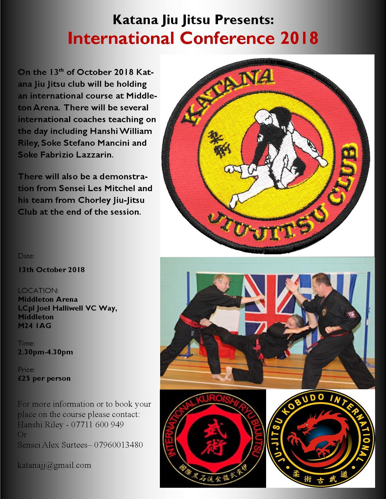 Katana Jiu Jitsu Club: Courses and Events